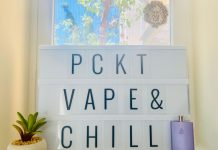 PCKT One Plus Vape and Chill